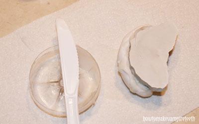 how to make fake teeth with acrylic